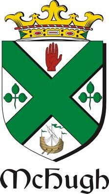 Thumbnail Hugh-Mc Family Crest / Irish Coat of Arms Image Download