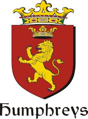 Thumbnail Humphreys Family Crest / Irish Coat of Arms Image Download