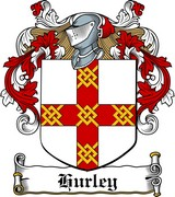 Thumbnail Hurley Family Crest / Irish Coat of Arms Image Download