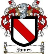 Thumbnail James Family Crest / Irish Coat of Arms Image Download