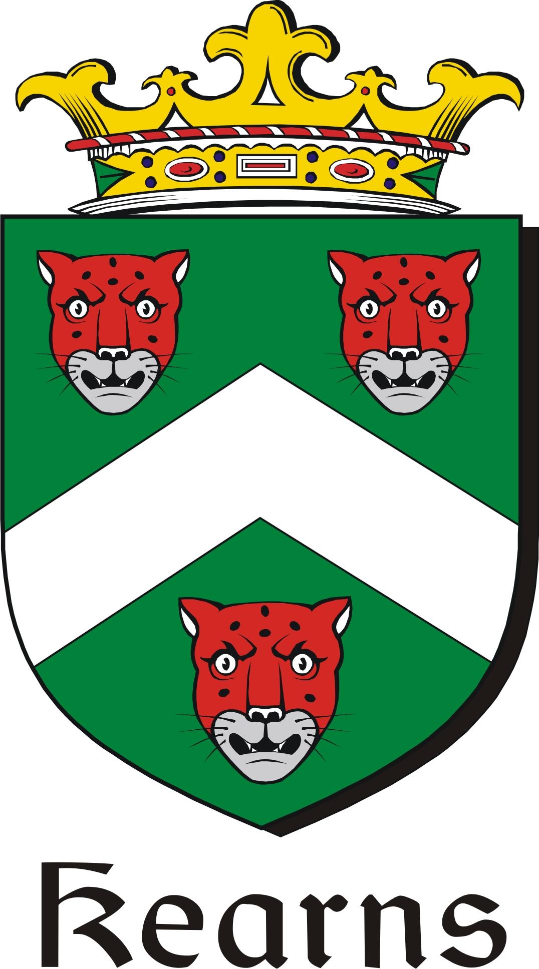 Thumbnail Kearns Family Crest / Irish Coat of Arms Image Download
