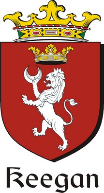 Thumbnail Keegan-2 Family Crest / Irish Coat of Arms Image Download