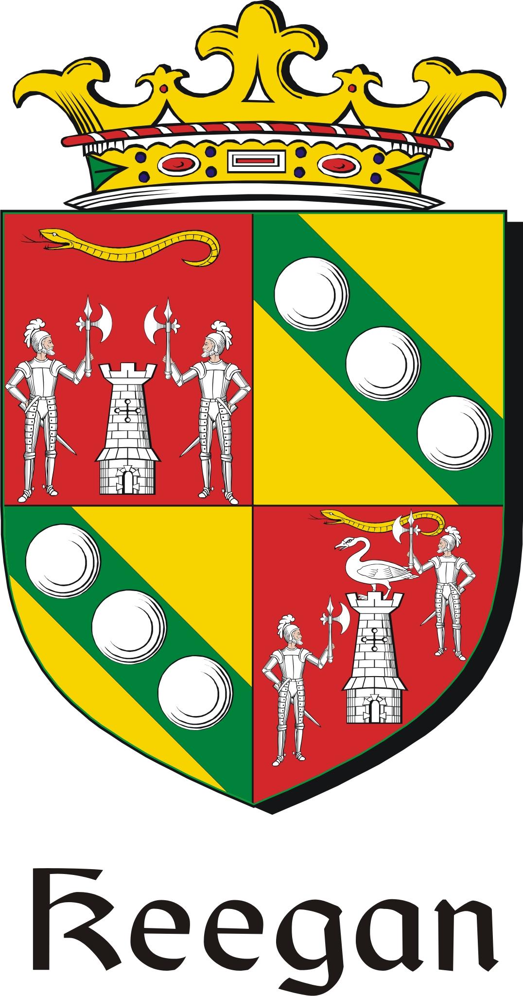 Thumbnail Keegan Family Crest / Irish Coat of Arms Image Download