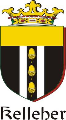 Thumbnail Kelleher Family Crest / Irish Coat of Arms Image Download