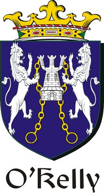 Thumbnail Kelly Family Crest / Irish Coat of Arms Image Download
