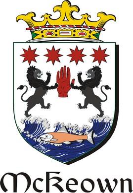 Thumbnail Keown-Mc Family Crest / Irish Coat of Arms Image Download