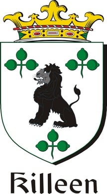 Thumbnail Killeen Family Crest / Irish Coat of Arms Image Download
