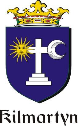 Thumbnail Kilmartyn Family Crest / Irish Coat of Arms Image Download