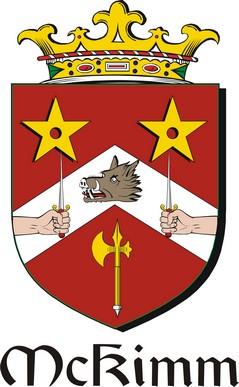 Thumbnail Kimm-Mc Family Crest / Irish Coat of Arms Image Download