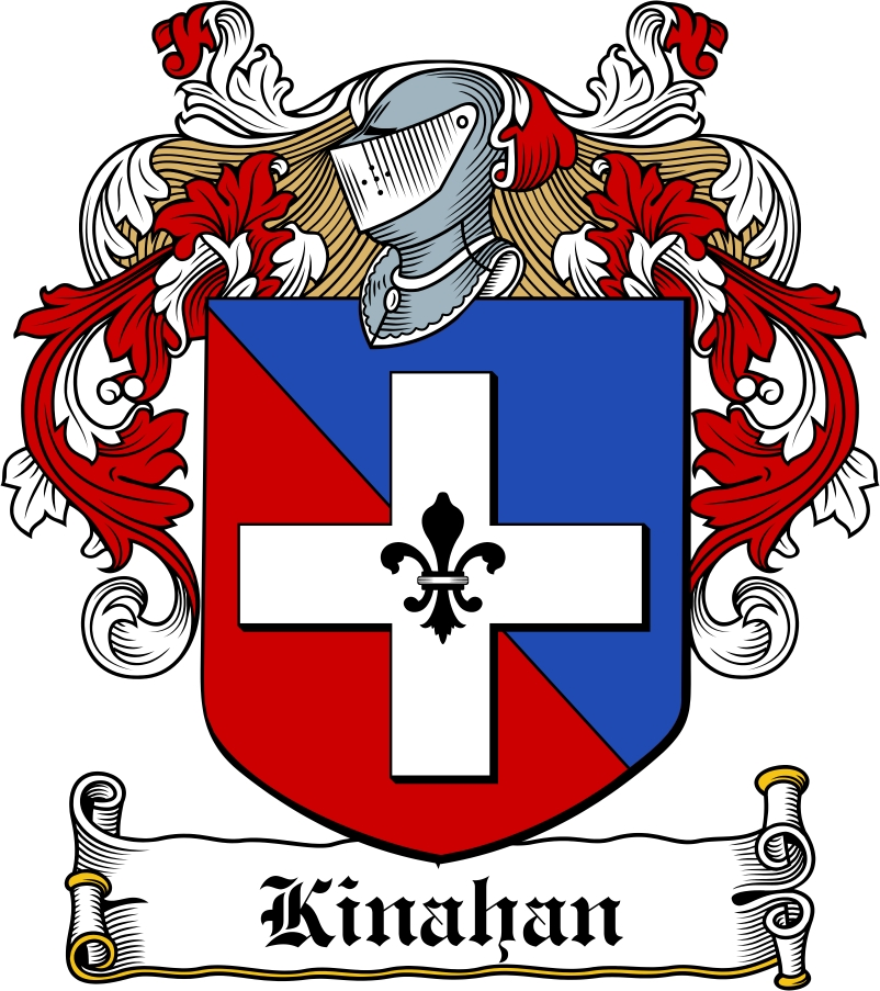 Thumbnail Kinahan Family Crest / Irish Coat of Arms Image Download