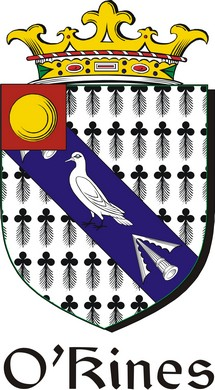 Thumbnail Kines-O Family Crest / Irish Coat of Arms Image Download