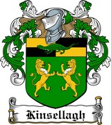 Thumbnail Kinsellagh Family Crest / Irish Coat of Arms Image Download