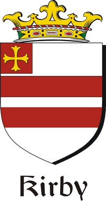 Thumbnail Kirby Family Crest / Irish Coat of Arms Image Download