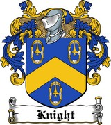 Thumbnail Knight Family Crest / Irish Coat of Arms Image Download