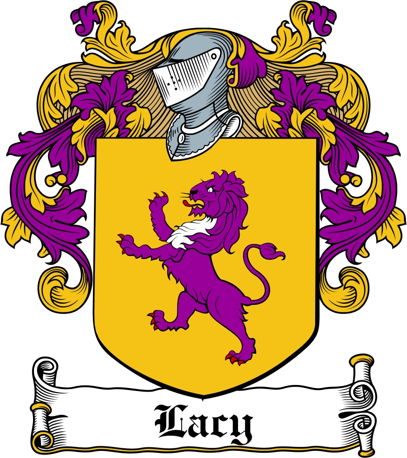 Thumbnail Lacy Family Crest / Irish Coat of Arms Image Download