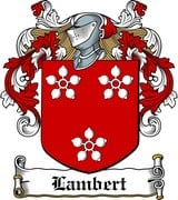 Thumbnail Lambert Family Crest / Irish Coat of Arms Image Download