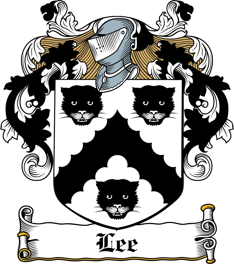 Thumbnail Lee Family Crest / Irish Coat of Arms Image Download