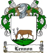 Thumbnail Lennon Family Crest / Irish Coat of Arms Image Download