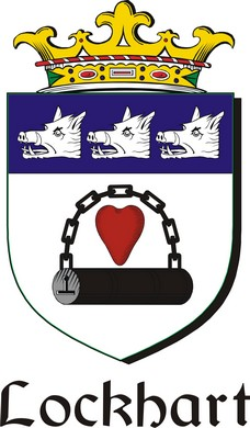 Thumbnail Lockhart-2 Family Crest / Irish Coat of Arms Image Download