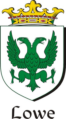 Thumbnail Lowe Family Crest / Irish Coat of Arms Image Download