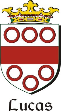 Thumbnail Lucas Family Crest / Irish Coat of Arms Image Download