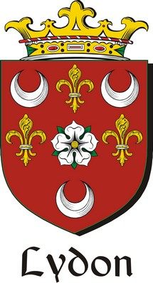 Thumbnail Lydon Family Crest / Irish Coat of Arms Image Download