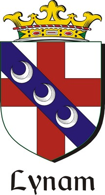 Thumbnail Lynam Family Crest / Irish Coat of Arms Image Download