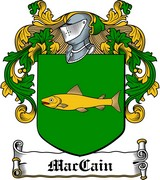 Thumbnail MacCain Family Crest / Irish Coat of Arms Image Download