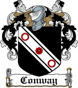 Thumbnail MacConway Family Crest / Irish Coat of Arms Image Download