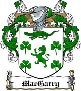 Thumbnail MacGarry Family Crest / Irish Coat of Arms Image Download