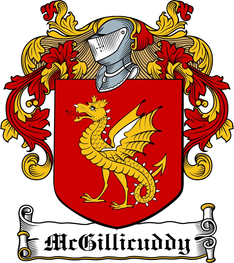 Thumbnail MacGillicuddy Family Crest / Irish Coat of Arms Image Download