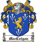 Thumbnail MacGolgan Family Crest / Irish Coat of Arms Image Download