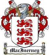 Thumbnail MacInerney Family Crest / Irish Coat of Arms Image Download