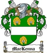 Thumbnail MacKenna Family Crest / Irish Coat of Arms Image Download