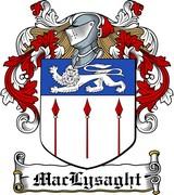 Thumbnail MacLysaght Family Crest / Irish Coat of Arms Image Download