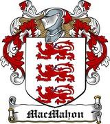 Thumbnail MacMahon Family Crest / Irish Coat of Arms Image Download