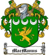Thumbnail MacManus Family Crest / Irish Coat of Arms Image Download