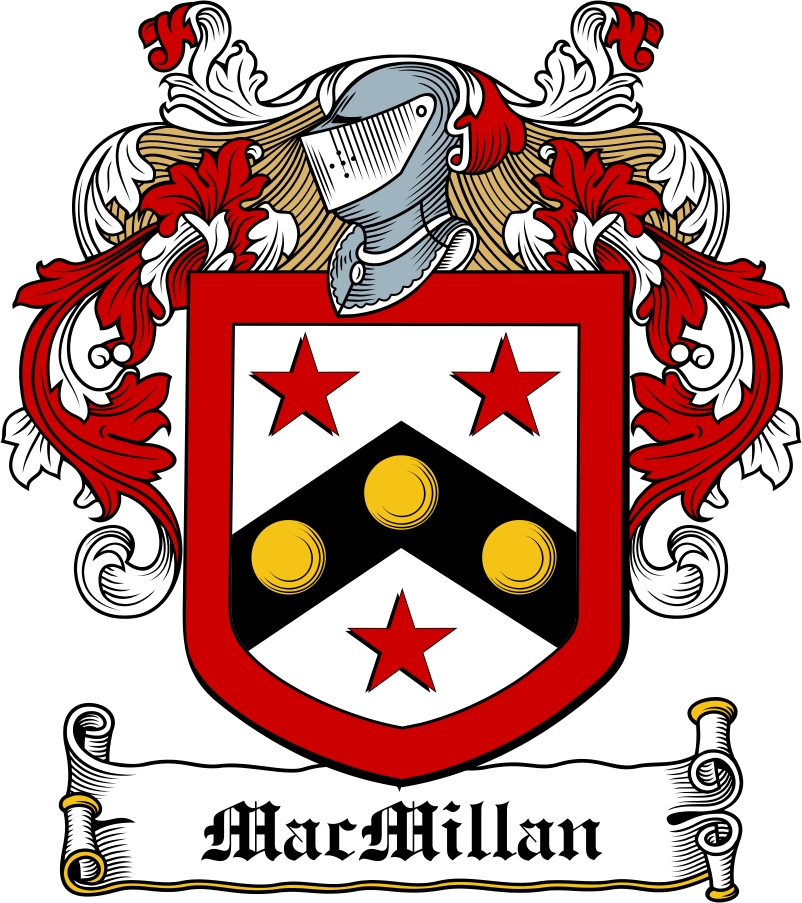 Thumbnail MacMillan Family Crest / Irish Coat of Arms Image Download