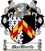 Thumbnail MacWorth Family Crest / Irish Coat of Arms Image Download