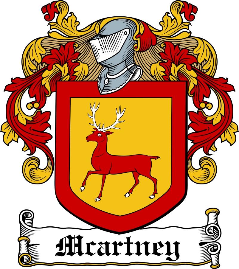 Thumbnail Macartney Family Crest / Irish Coat of Arms Image Download