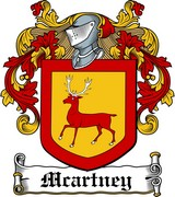 Thumbnail Macartney Family Crest / Irish Coat of Arms Image Download