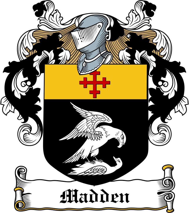 Thumbnail Madden Family Crest / Irish Coat of Arms Image Download