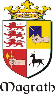 Thumbnail Magrath Family Crest / Irish Coat of Arms Image Download