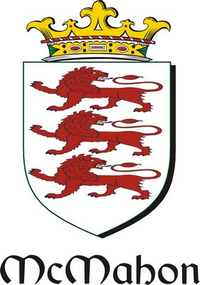 Thumbnail Mahon-Mc Family Crest / Irish Coat of Arms Image Download