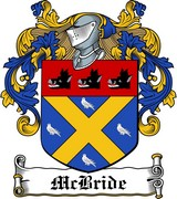 Thumbnail McBride Family Crest / Irish Coat of Arms Image Download