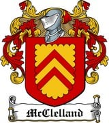 Thumbnail McClelland Family Crest / Irish Coat of Arms Image Download