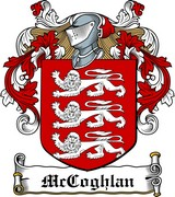 Thumbnail McCoghlan Family Crest / Irish Coat of Arms Image Download