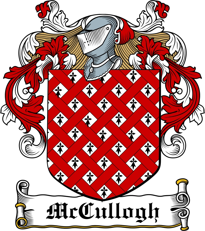 Thumbnail McCullogh Family Crest / Irish Coat of Arms Image Download