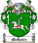 Thumbnail McGuire Family Crest / Irish Coat of Arms Image Download