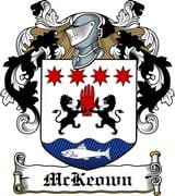 Thumbnail McKeown Family Crest / Irish Coat of Arms Image Download